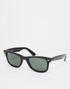 Солнцезащитные очки-вайфареры Ray-Ban 0RB2140 901 50 - Черный