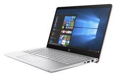 """Ноутбук HP Pavilion 14-bf032ur, 14"""", Intel Core i5 7200U 2.5ГГц, 6Гб, 1000Гб, 128Гб SSD, nVidia GeForce 940MX - 2048 Мб, Windows 10, 3FX21EA, розовый"""