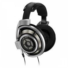 Наушники SENNHEISER HD 800, накладные, черный/серебристый, проводные