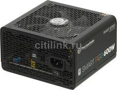 Блок питания THERMALTAKE Smart RGB 600, 600Вт, 120мм, черный, retail