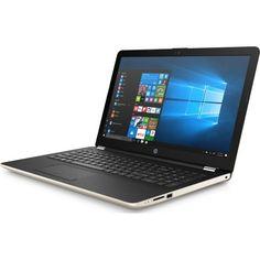 "Ноутбук HP 15-bw031ur, 15.6"", AMD A9 9420 3.0ГГц, 4Гб, 500Гб, AMD Radeon R5, Windows 10, 2BT52EA, золотистый"