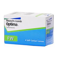 Контактные линзы Bausch & Lomb Optima FW (4 линзы / 8.7 / -1.75)
