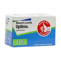 Контактные линзы Bausch & Lomb Optima FW (4 линзы / 8.7 / -3.5)