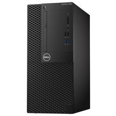 Настольный компьютер Dell Optiplex 3050 3050-6324 (Intel Core i5-6500 3.2 GHz/4096Mb/500Gb/DVD-RW/Intel HD Graphics/Wi-Fi/Windows 10 64-bit)
