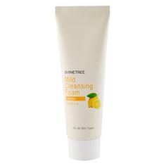 Пенка для умывания `SHINETREE` с экстрактом лимона 80 мл