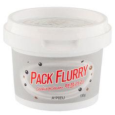 Маска-скраб для лица `A`PIEU` `PACK FLURRY` COOKIE & CREAM  130 г Apieu