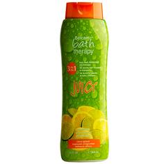 Гель для душа, пена для ванны, шампунь для волос `BATH THERAPY` JUICY 3 в 1 Цитрусовый микс 950 мл