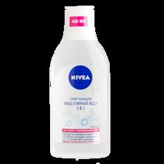 Мицеллярная вода `NIVEA` 3 в 1 (для сухой и чувствительной кожи) 400 мл
