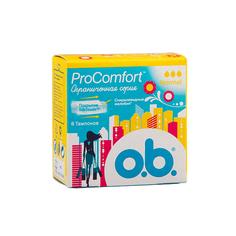 ТАМПОНЫ `O.B` Pro Comfort нормал 8шт. К48 O.B.