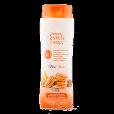 Гель для душа, пена для ванны, шампунь для волос `BATH THERAPY` PARIS SWEETS Морская соль и карамель 500 мл