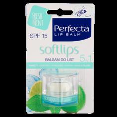 Бальзам для губ `PERFECTA` SOFTLIPS Мята SPF-15 6,5 г