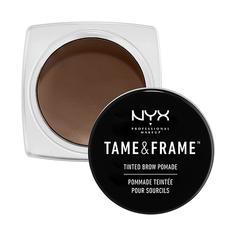 Помада для бровей `NYX PROFESSIONAL MAKEUP` TAME & FRAME BROW POMADE тон 02 Choco
