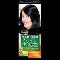 Краска для волос `GARNIER` `COLOR NATURALS` тон 1+ (Ультра черный)