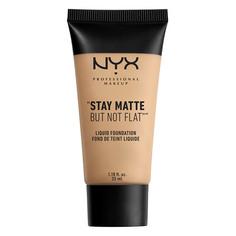 Основа тональная для лица `NYX PROFESSIONAL MAKEUP` STAY MATTE BUT NOT FLAT тон 02 Nude матирующая