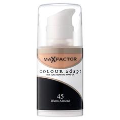 ТОН-КРЕМ `MAX FACTOR` для лица `Colour Adapt` тон 45