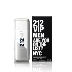 Туалетная вода `CAROLINA HERRERA` 212 VIP MEN (муж.) 100 мл