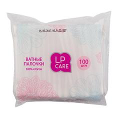 Палочки ватные `LP CARE` в пакетике 100 шт