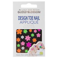 Наклейки для ногтей `GLOSSYBLOSSOM` БРИЛЛИАНТОВОЕ ЛЕТО на ногах             а/п 71156