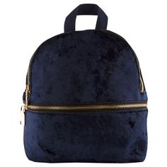 Рюкзак `LADY PINK` BOHEMIAN SOUL велюровый синий