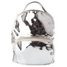 Рюкзак `LADY PINK` METAL SHOCK серебро