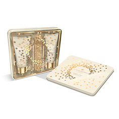 Набор подарочный женский `THE LUXURY BATHING BY GRACE COLE` BERGAMOT, GINGER & LEMONGRASS (мыло 50 мл, крем для рук 50 мл, палочка для кутикулы 2 шт, пилка)