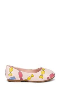Розовые туфли с цветным принтом Age of Innocence