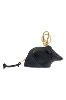 Черный брелок в виде мыши Loewe
