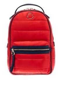 Красный стеганый рюкзак Moncler