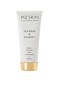 Очищающее средство cleanse & clarify dual action aha cleanser & mask - MZ Skin