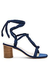 Туфли на каблуке с открытым носком phillipe - RAYE