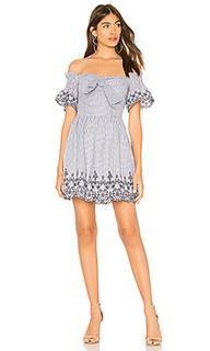 Платье с вышивкой - J.O.A.