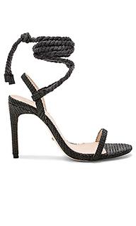 Туфли на каблуке с открытым носком adelaide - RAYE