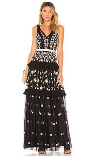 Вечернее платье без рукавов prism ditsy - Needle & Thread