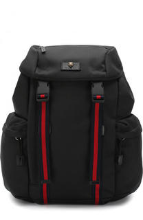 Текстильный рюкзак с клапаном Gucci