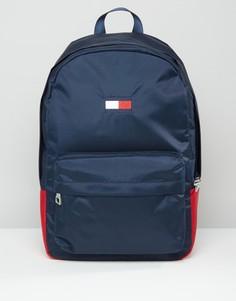 Темно-синий рюкзак с флагом Tommy Hilfiger Exclusive - Темно-синий