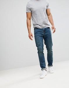 Темные джинсы скинни ASOS - Синий
