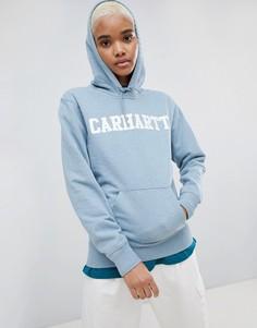 Худи с логотипом Carhartt WIP - Синий