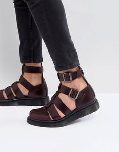 Красные сандалии с ремешком вокруг щиколотки Dr.Martens Geraldo - Красный