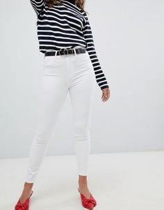Белые зауженные джинсы River Island Harper - Белый