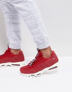 Красные кроссовки Nike Air Max 95 TT AJ1844-600 - Красный
