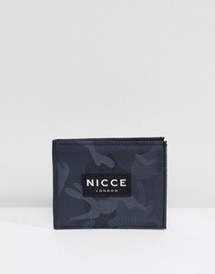 Камуфляжный бумажник Nicce London - Черный