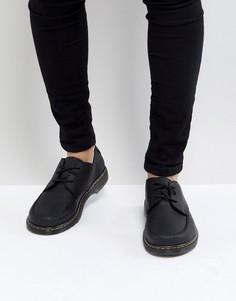 Туфли с 3 парами люверсов Dr Martens Revive Hanneman - Черный
