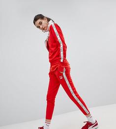 Красные спортивные штаны Puma эксклюзивно для ASOS - Красный