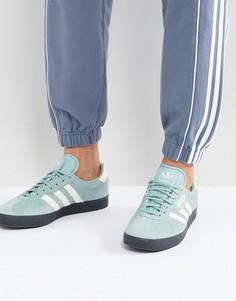 Зеленые кроссовки adidas Originals Gazelle CQ2796 - Зеленый