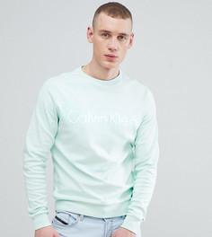 Свитшот с логотипом Calvin Klein - Зеленый