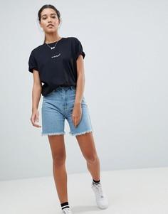Джинсовые шорты Missguided - Синий