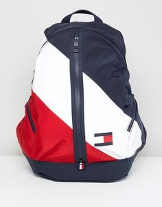 Рюкзак с темно-синей, белой и красной отделкой Tommy Hilfiger - Мульти