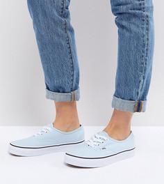 Голубые кроссовки Vans Authentic - Синий