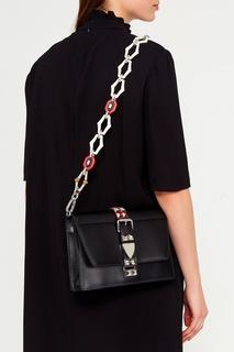 Съемный ремень для сумки белого цвета Prada