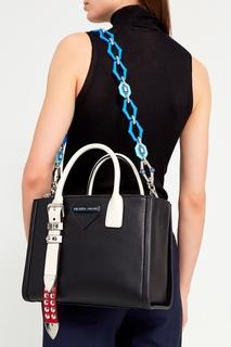 Съемный ремень для сумки голубого цвета Prada